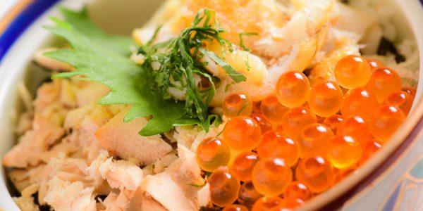 鮭とイクラとタラ丼_main